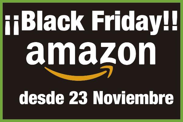 ¡Calendario Black Friday en Amazon! Cuentas atrás desde el 23 de Noviembre con Ofertas Flash