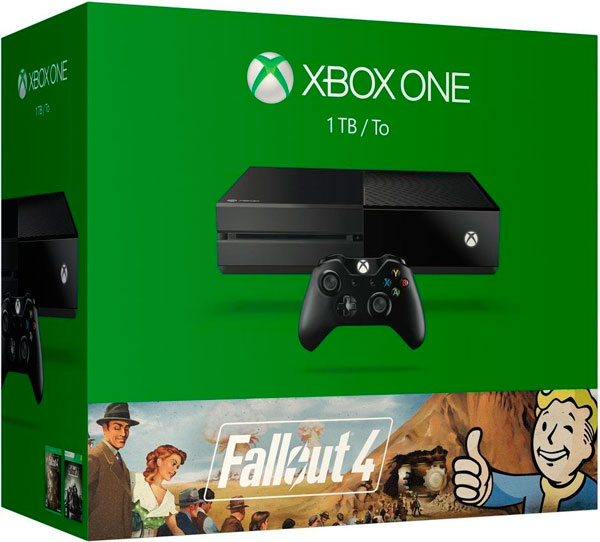 ¡Chollazo Black Friday! Xbox One 1TB + Fallout 4 y 3 barata 299 euros. 25% Descuento