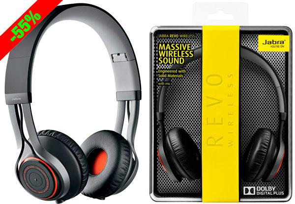 ¡Chollo! Auriculares inalámbricos Bluetooth Jabra Revo baratos 89,99 euros. 55% Descuento