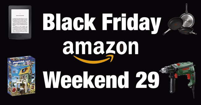 Black Friday Weekend en Amazon. TODAS las Ofertas de HOY Domingo 29 Noviembre
