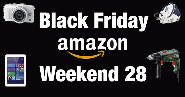 Black Friday Weekend en Amazon. TODAS las Ofertas de HOY. 28 Noviembre
