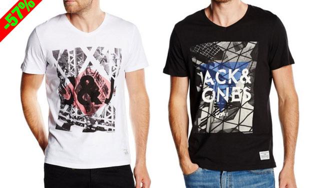 Chollo! Camisetas Jack & Jones JJCoeat Tee baratas desde 5,99 euros. 57% Descuento