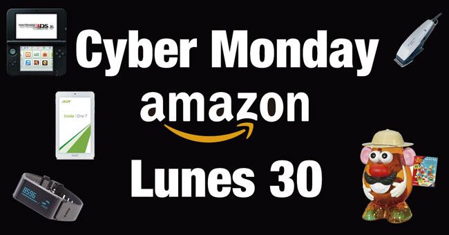 Cyber Monday en Amazon. TODAS las OFERTAS Lunes 30 Noviembre