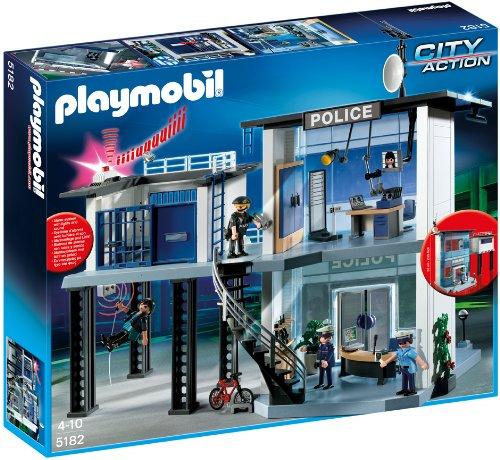 ¡Chollo! Comisaría de Policía de Playmobil City Action 5182 barata 64 euros