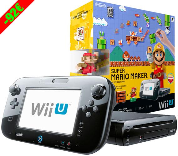 Chollo! Consola Wii U Premium + Mario Maker + Amiibo barata 289 euros. Te devuelven 72€