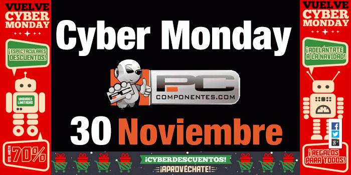 Cyber Monday en PcComponentes. TODAS las OFERTAS hasta 70% descuento