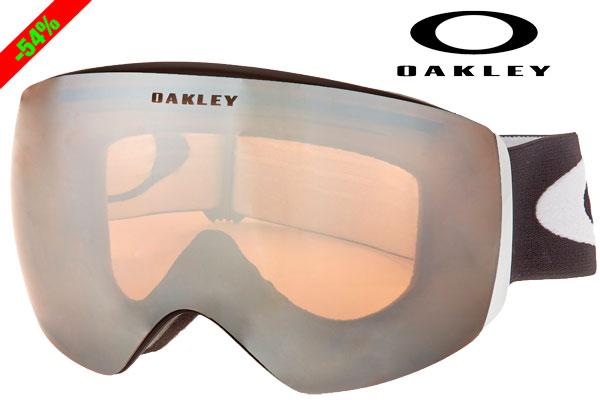 ¡Chollo! Gafas de esquí Oakley Skibrille Flight Deck baratas 78 euros. 54% Descuento