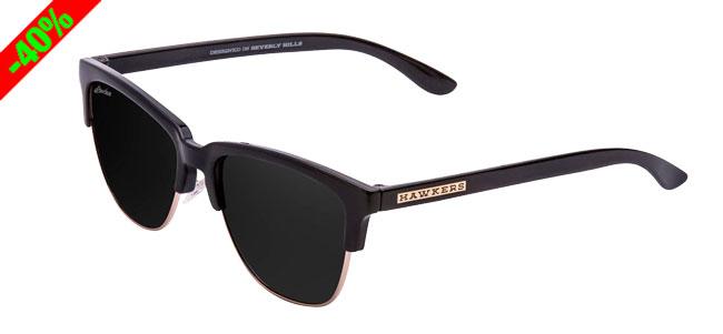Chollo! Gafas de Sol Hawkers Classic Diamond Black baratas 18 euros. 40% Descuento