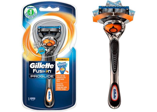 ¡Chollo! Cuchilla Afeitar Gillette Fusion Proglida Flexball barata 8,99 euros