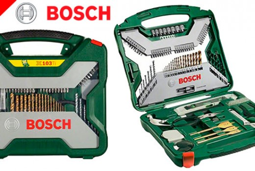juego-de-brocas-bosch-x-line-barato-con-103-piezas