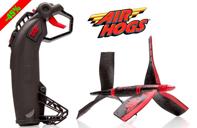 ¡Chollo! Juguete Cohete Air Hogs Skywinder barato 21 euros. 45% Descuento