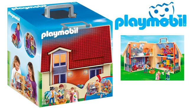 Chollo malet n casa de mu ecas de playmobil 5167 barato 23 99 euros - Gran casa de munecas playmobil ...