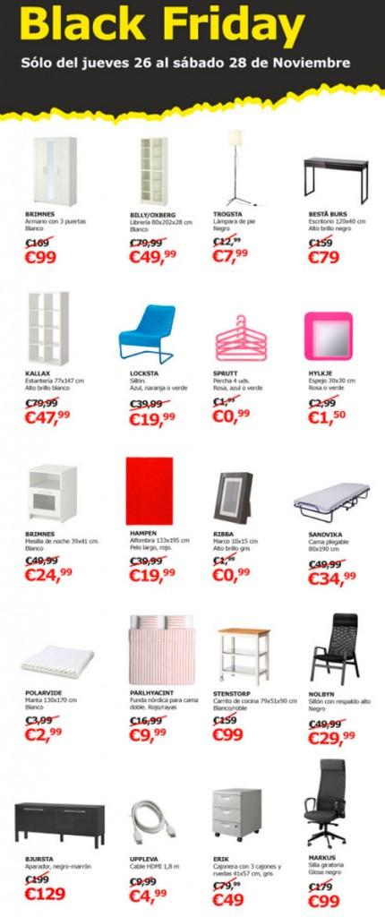ofertas del black friday en ikea del 26 al 28 de noviembre. Black Bedroom Furniture Sets. Home Design Ideas