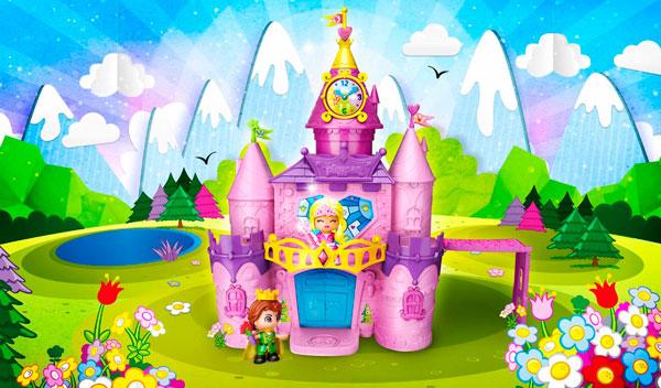 palacio de princesas y hadas de pinypon