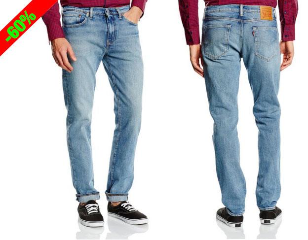 ¡Chollo! Vaqueros Jeans Slim Levis 511 baratos desde 40 euros. 60% Descuento