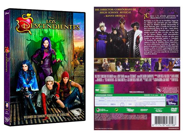 ¡Chollo! Película Los Descendientes de Disney en DVD barata 11,63 euros