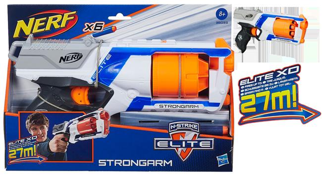 Chollo! Pistola juguete Nerf StrongArm Elite XD barata 13 euros