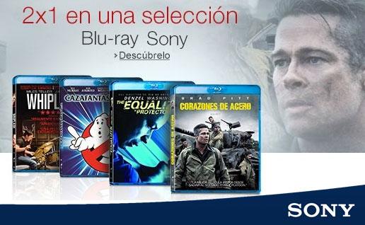 ¡Promoción 2x1 en una Selección Blu-Ray Sony! Hasta 6 Diciembre