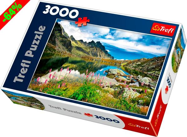 Chollo! Puzzle Trefl 3000 piezas Starolesnianski Staw barato 12 euros. 64% Descuento
