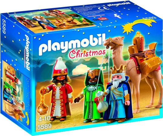 Chollo! Reyes Magos de Playmobil Navidad 5589 barato 14 euros. 27% Descuento