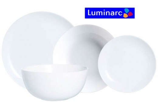 vajilla 19 piezas luminarc diwali barata