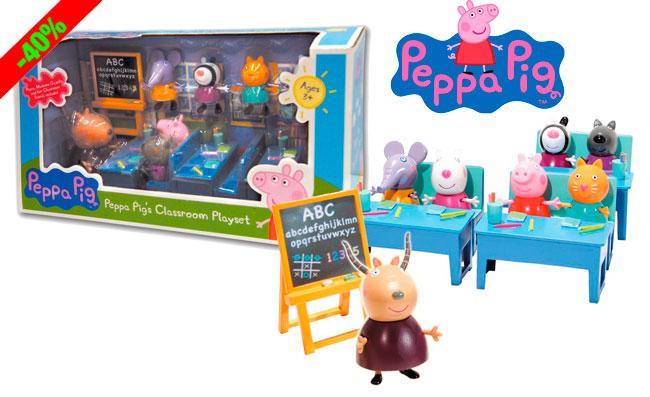 ¡Chollo! Juguete Vamos al Cole con Peppa Pig barato 24 euros. 40% Descuento