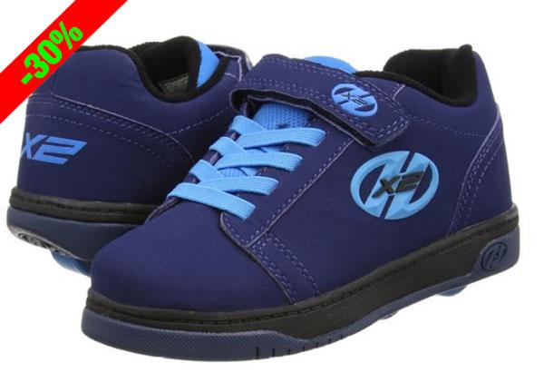 ¡Chollo! Zapatillas para niños con ruedas Heelys Dual Up baratas 52 euros. 30% Descuento