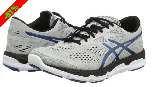 ¡Chollo! Zapatillas de Running Asics 33-FA baratas 55 euros. 51% Descuento