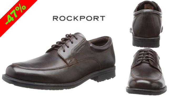 ¡Chollo! Zapatos de cuero Rockport baratos 53 euros. 47% Descuento