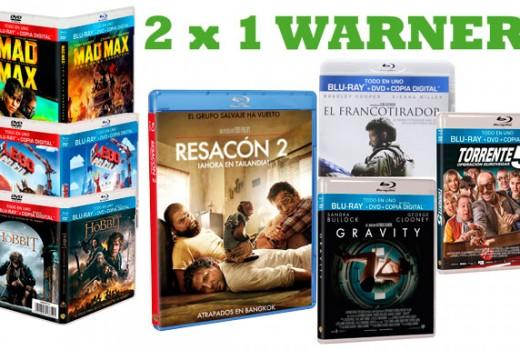 2X1-bluray-warner-bross-navidad-promocion-oferta-descuento-cine-dvd