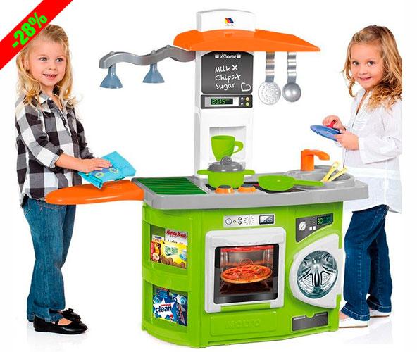 ¡Chollo! Cocina de Juguete Con Luz Molto barata 29 euros. 28% Descuento