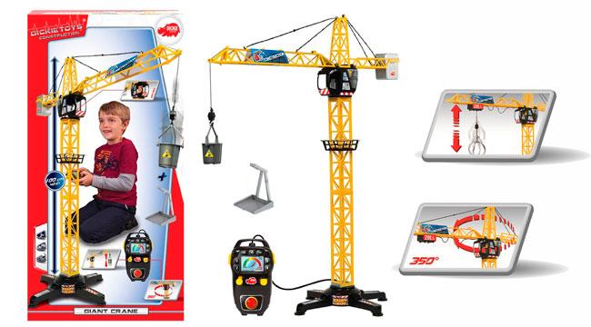¡Chollo! Mega Grua con control Remoto Dickie Toys barata 15 euros. 50% Descuento