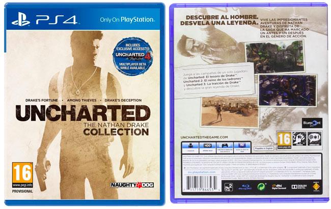 ¡Chollo! Juego Exclusivo PS4 Uncharted The Nathan Drake Collection barato 39,90 euros