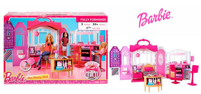 Chollo Casa De Vacaciones Portatil De Barbie Barata 35 Arreglar La Casa De  Barbie