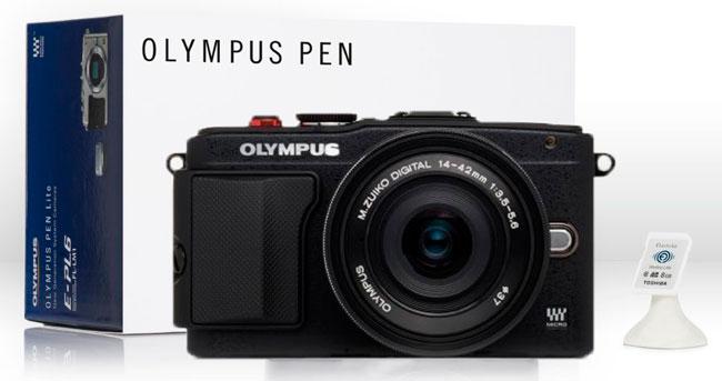 ¡Oferta de Hoy! Camara Olympus PEN E-PL6 + Extras barata 299 euros. 50% Descuento