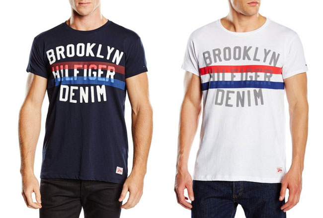 ¡Chollo! Camiseta Tommy Hilfiger Denim Terrance Rn Tee baratas desde 15 euros. 46% Descuento