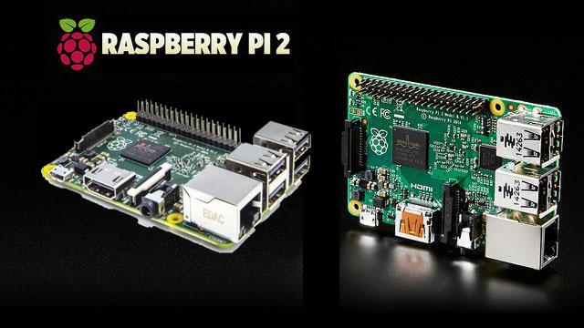 ¡Top Ventas! Ordenador Centro Multimedia Raspberry Pi 2 Model B barato 39,95 euros