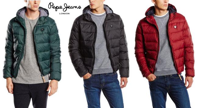 chaqueton-abrigo-pluma-pepe-jeans-DAVE-new-barato-amazon-descuento-BlogdeOfertas