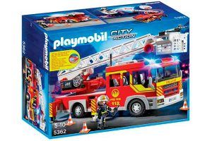 chollo camion bomberos playmobil barato descuento rebajas juguetes
