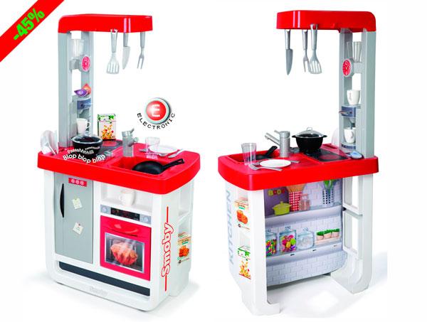 ¡Chollo! Cocina de Juguete Smoby Bon Appetit barata 29 euros. 45% Descuento