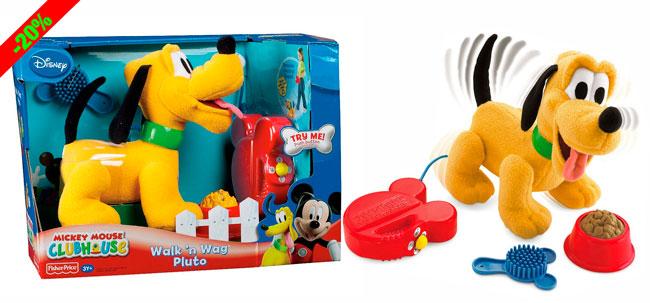 ¡Chollo! Pluto Vamos de Paseo de Disney barato 32 euros. 20% Descuento