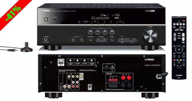 ¡Chollo! Equipo Música 5.1 Receptor AV Yamaha RX-V379 barato 227 euros. 41% Descuento