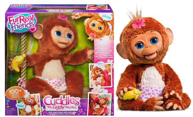 ¡Chollo! Peluche interactivo Moni Monita FurReal Friends barato 61 euros