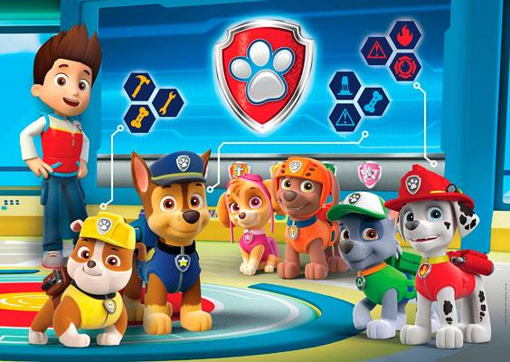 puzzle de patrulla canina