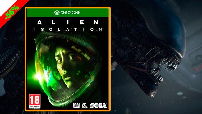 ¡Chollo Consolas! Juego Alien Isolation de Sega XBOX One barato 15 euros. 56% Descuento