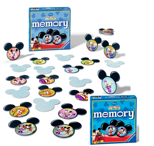 ¡Chollo! Juego de Memoria Disney Mickey Mouse Club House barato 6 euros. 49% descuento