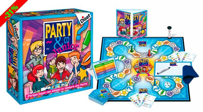 Chollo Juego De Mesa Party Co Junior Barato 15 Euros 31 Descuento