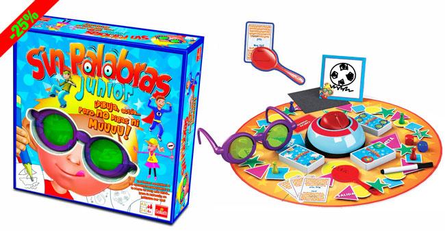 Chollo juego sin palabras junior barato 24 euros 25 for Juego de mesa sin palabras