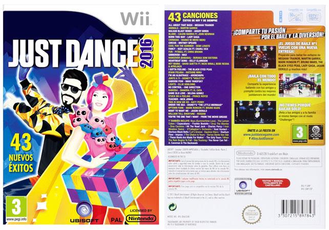 ¡Chollo! Juego Just Dance 2016 para Wii barato 36 euros. 22% Descuento