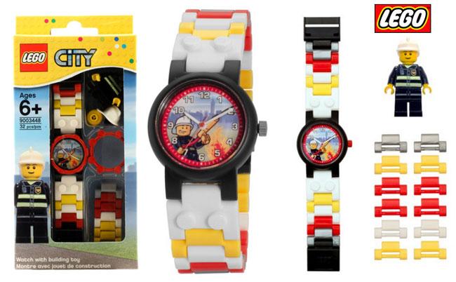 Chollo Reloj Infantil LEGO 9003448 de Bombero barato slo 16 euros